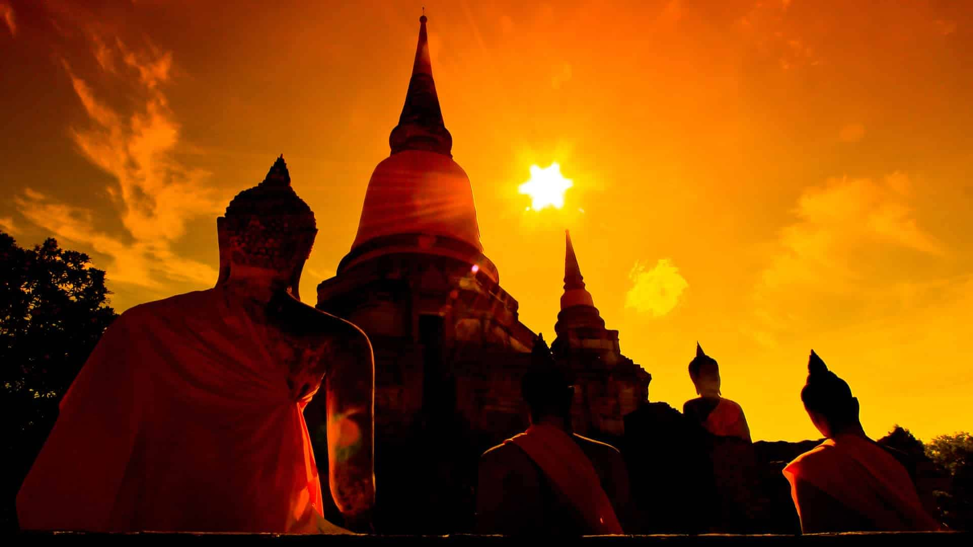 Ayutthaya Temple Bangkok