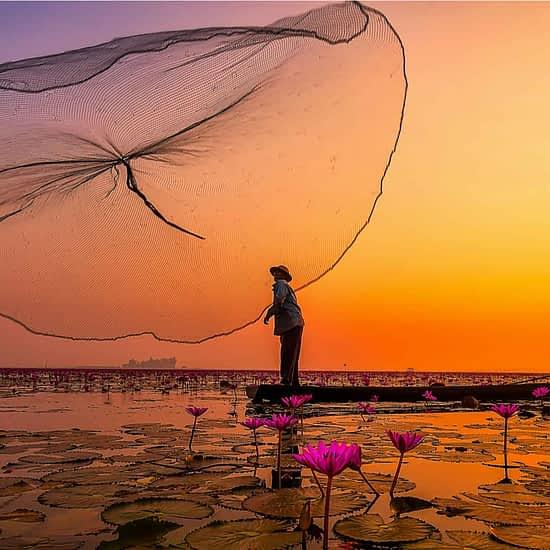 Fishermen in Vietnam