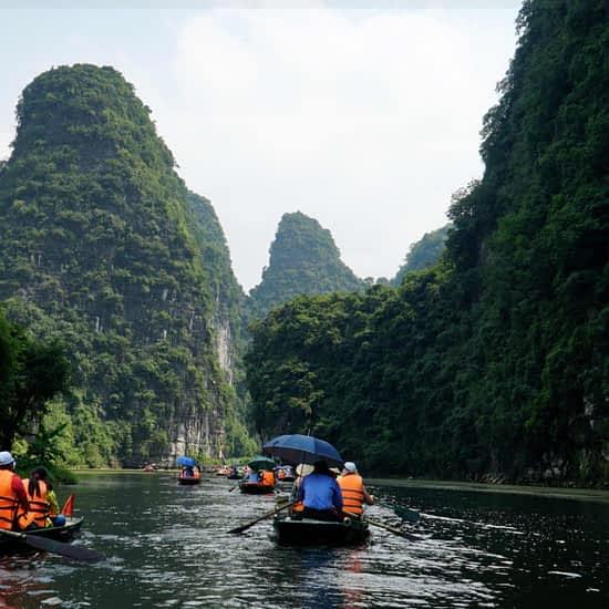 Go-Indochine boat tour Ninh Binh Vietnam
