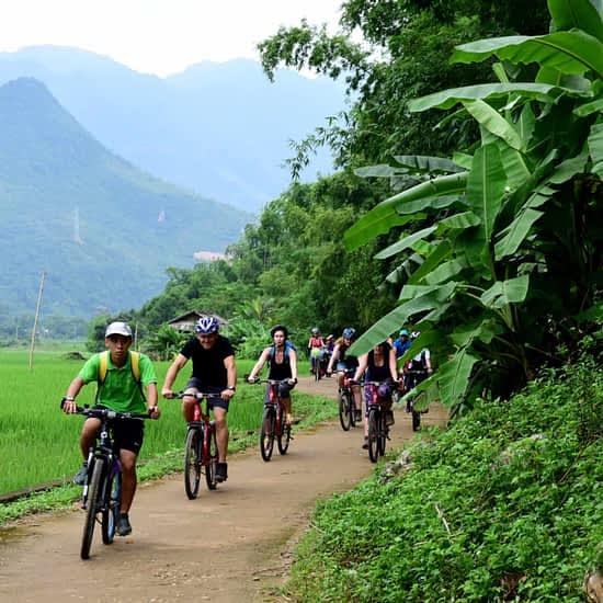 Go-Indochine cycling tour May Chau Vietnam