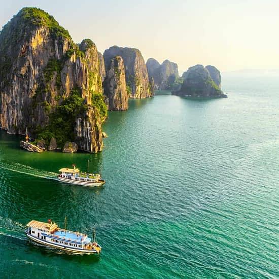 Halong Bucht Kreuzfahrt Vietnam