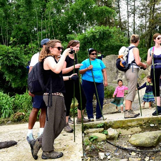 Go Indochine trekking with local guide Vietnam