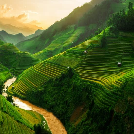 Sapa Mountains Panorama, North Vietnam