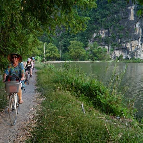 Go-Indochine cycling tour Ninh Binh Vietnam