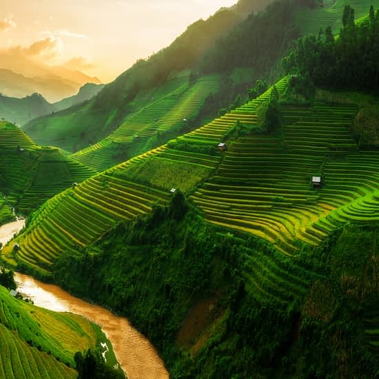 Sapa Mountains Panorama, North Vietnam